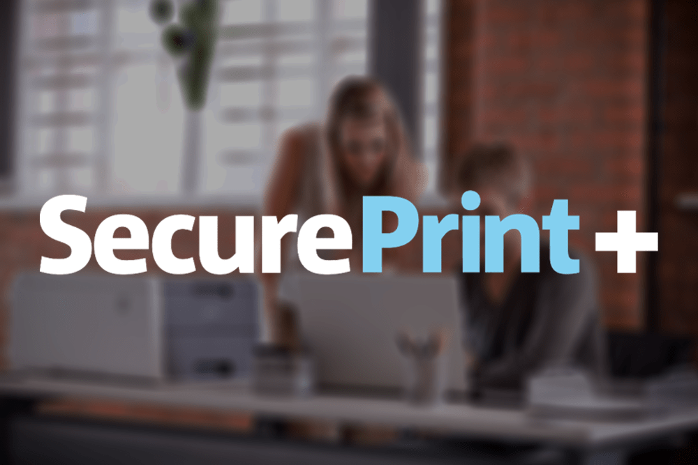 Brother Secure Print Plus