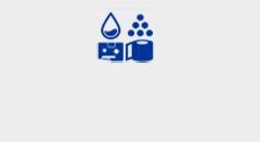 Blue supplies icon