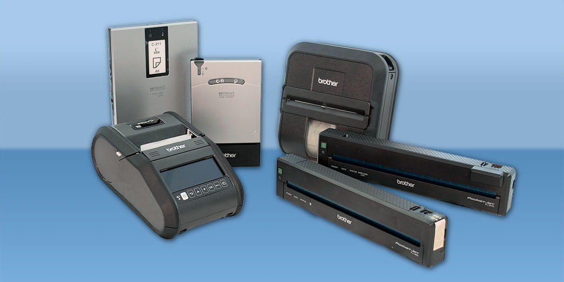 View all Brother Mobile Printers