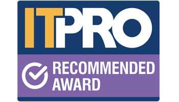 ITPro Recommended Award logo
