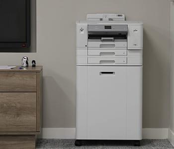 Brother X-Series HL-J6100 inkjet printer in boardroom setting