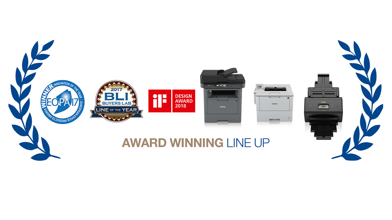 Brother's award winning printers and scanners 2017