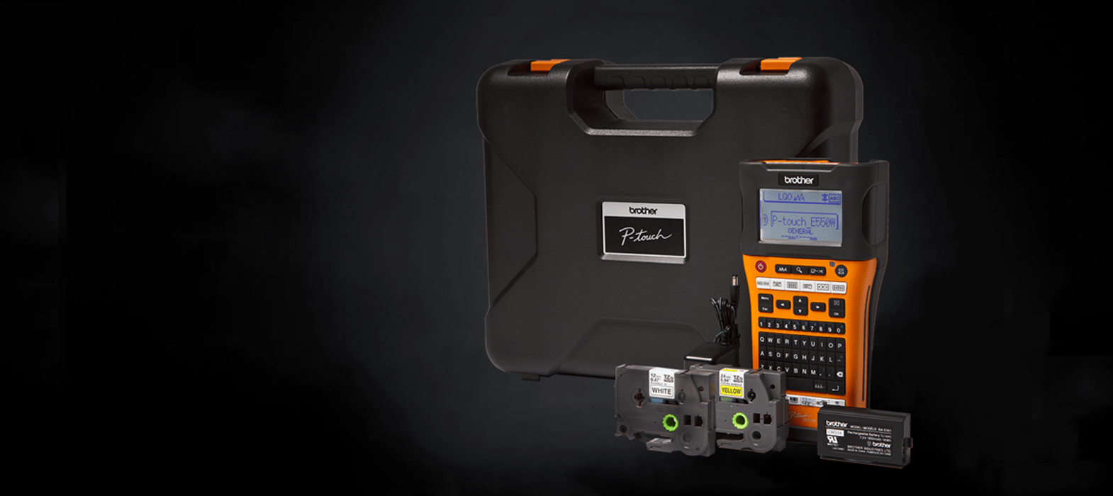 Leave the mark of a smart professional with a Brother label printer