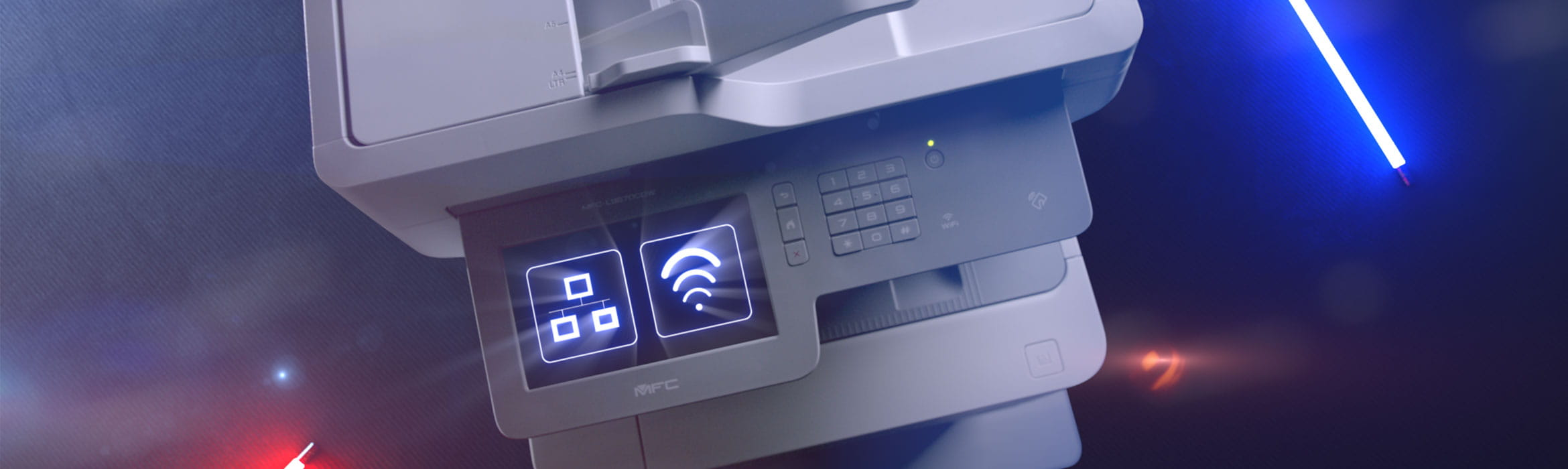 Productivity boost from a Brother designed for business printer