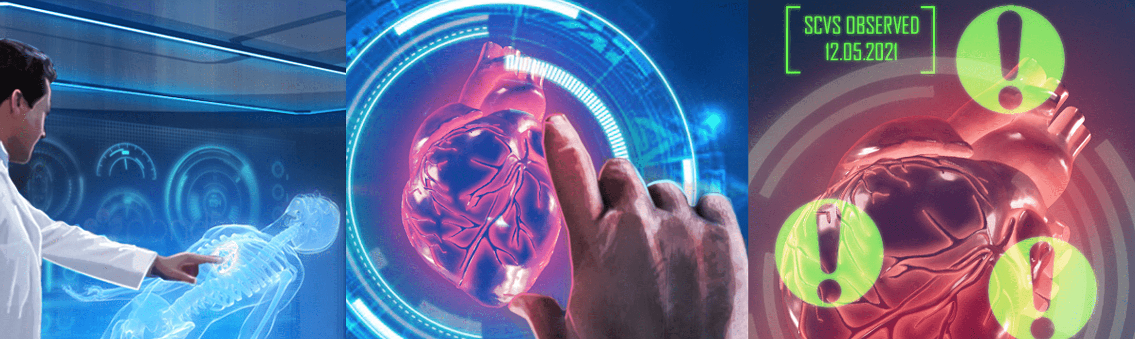 3D printing and holography could benefit doctors and surgeons in hospitals in future.
