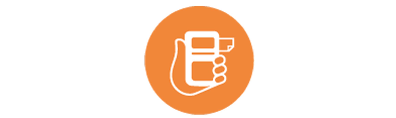 Mobile printer icon
