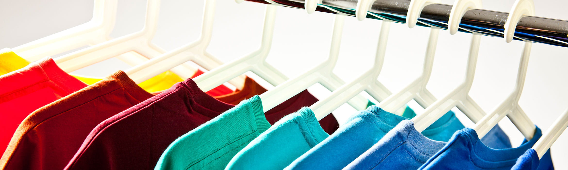 coloured tshirts rail retail specialist partners