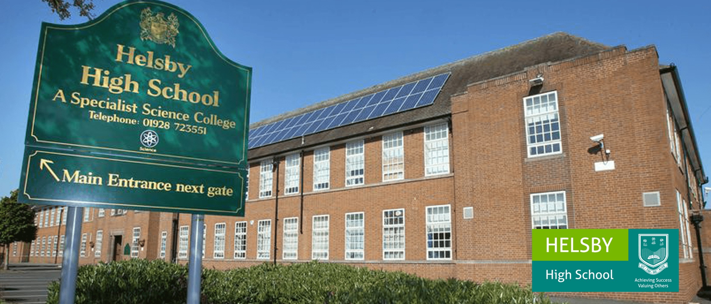 Brother's success story with Helsby High School