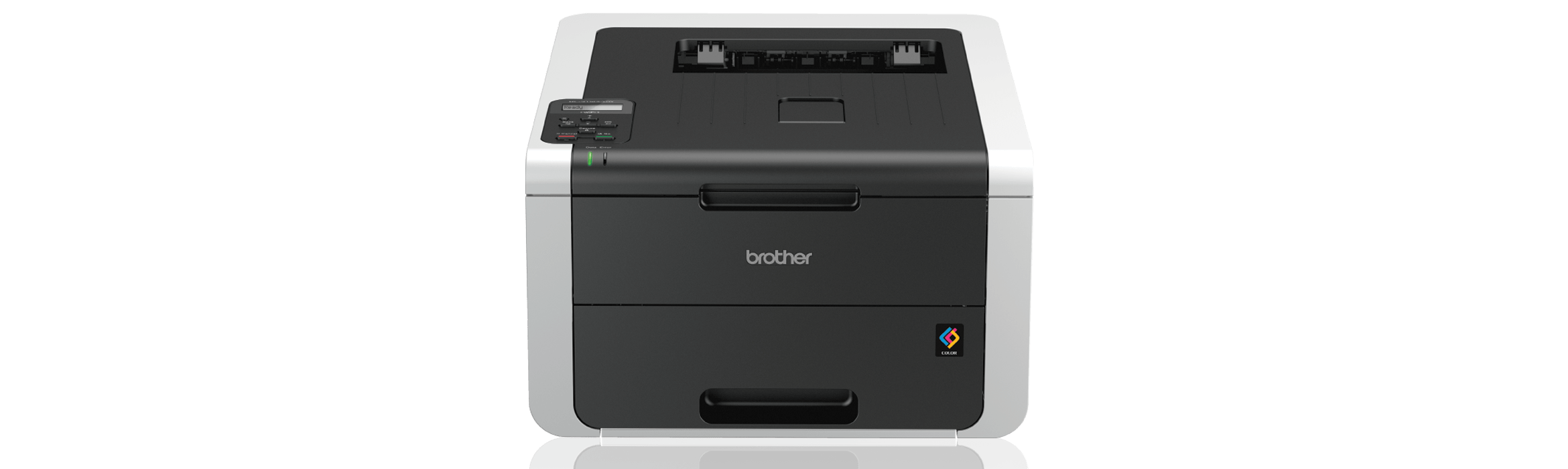 Image shows Brother HL3170CDW Wireless Colour Laser Printer on promotion