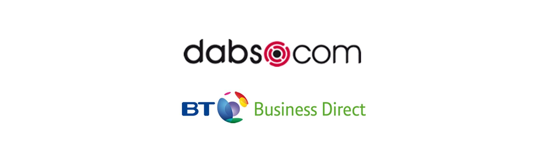 dabs com BT Business Direct logo