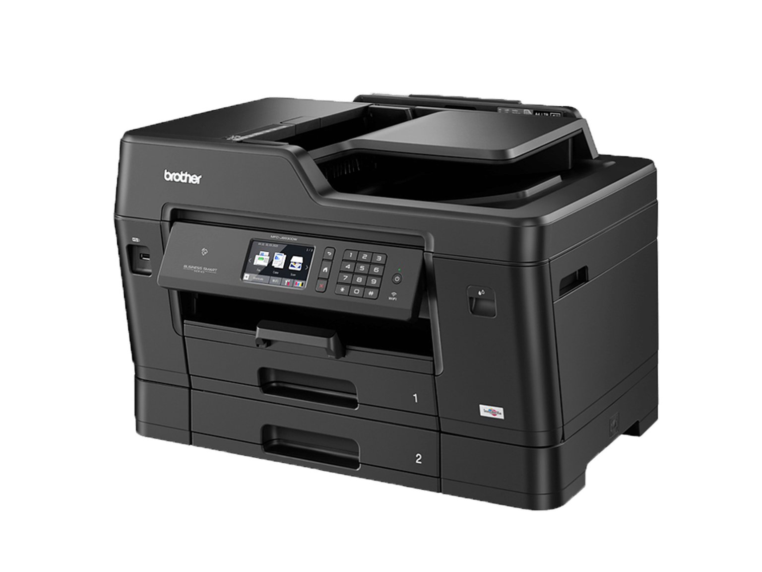 Brother A3 inkjet printer 3/4 view