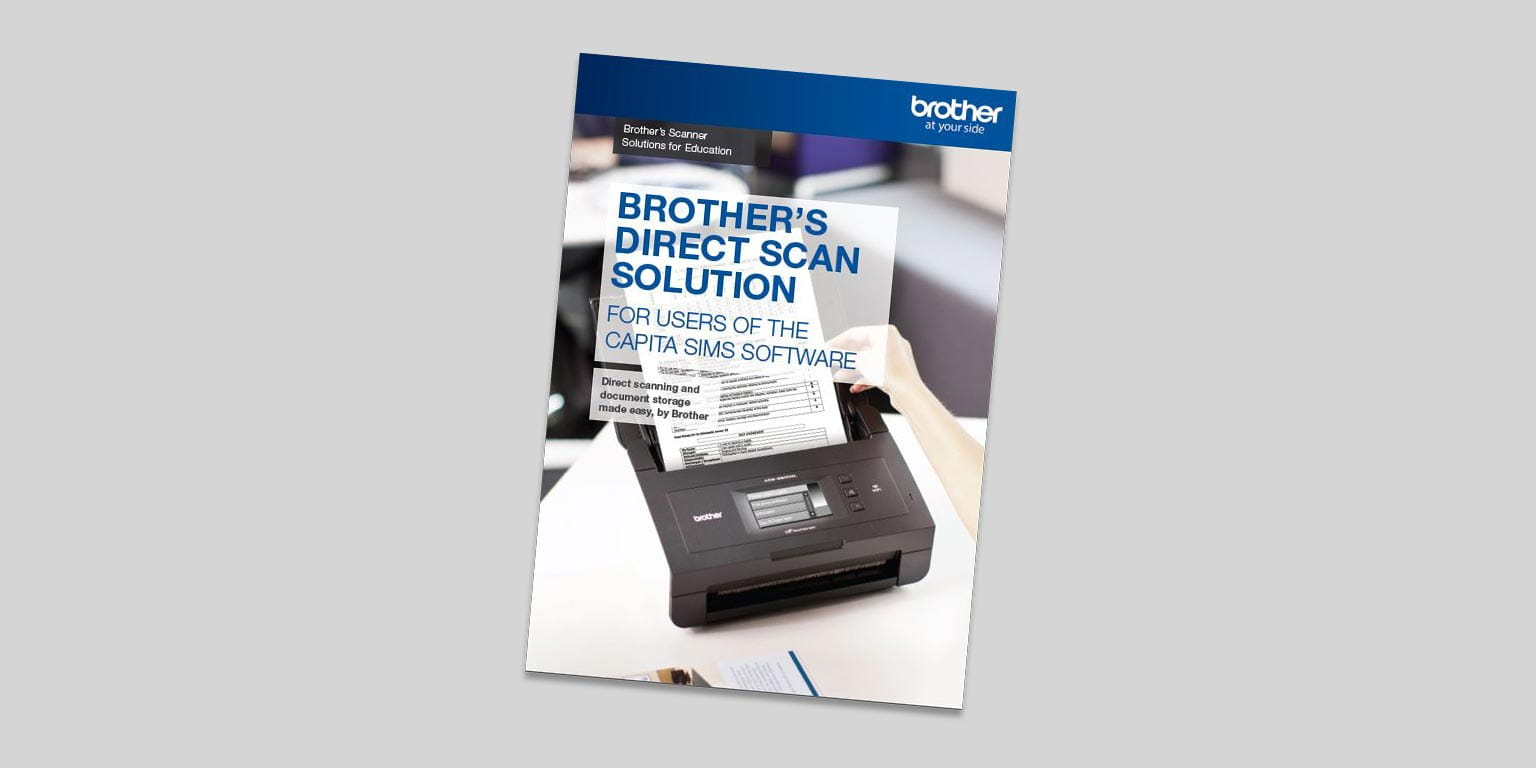 Brother Direct Scan Brochure