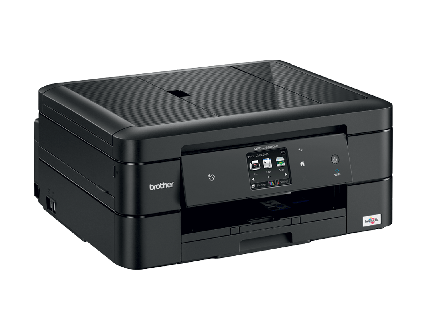Brother inkjet printer 3/4 view