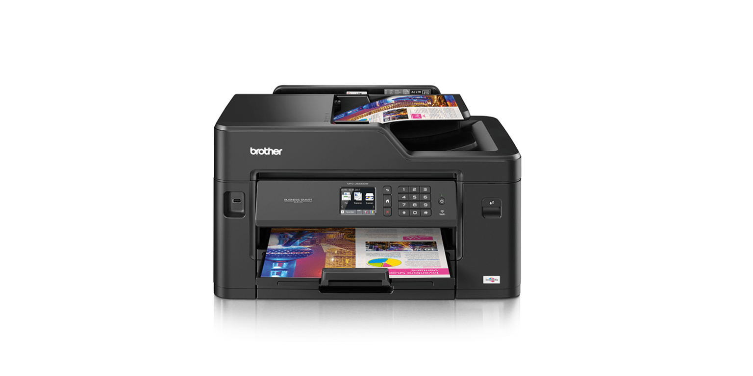 Brother MFC-J5330DW all-in-one inkjet printer front view