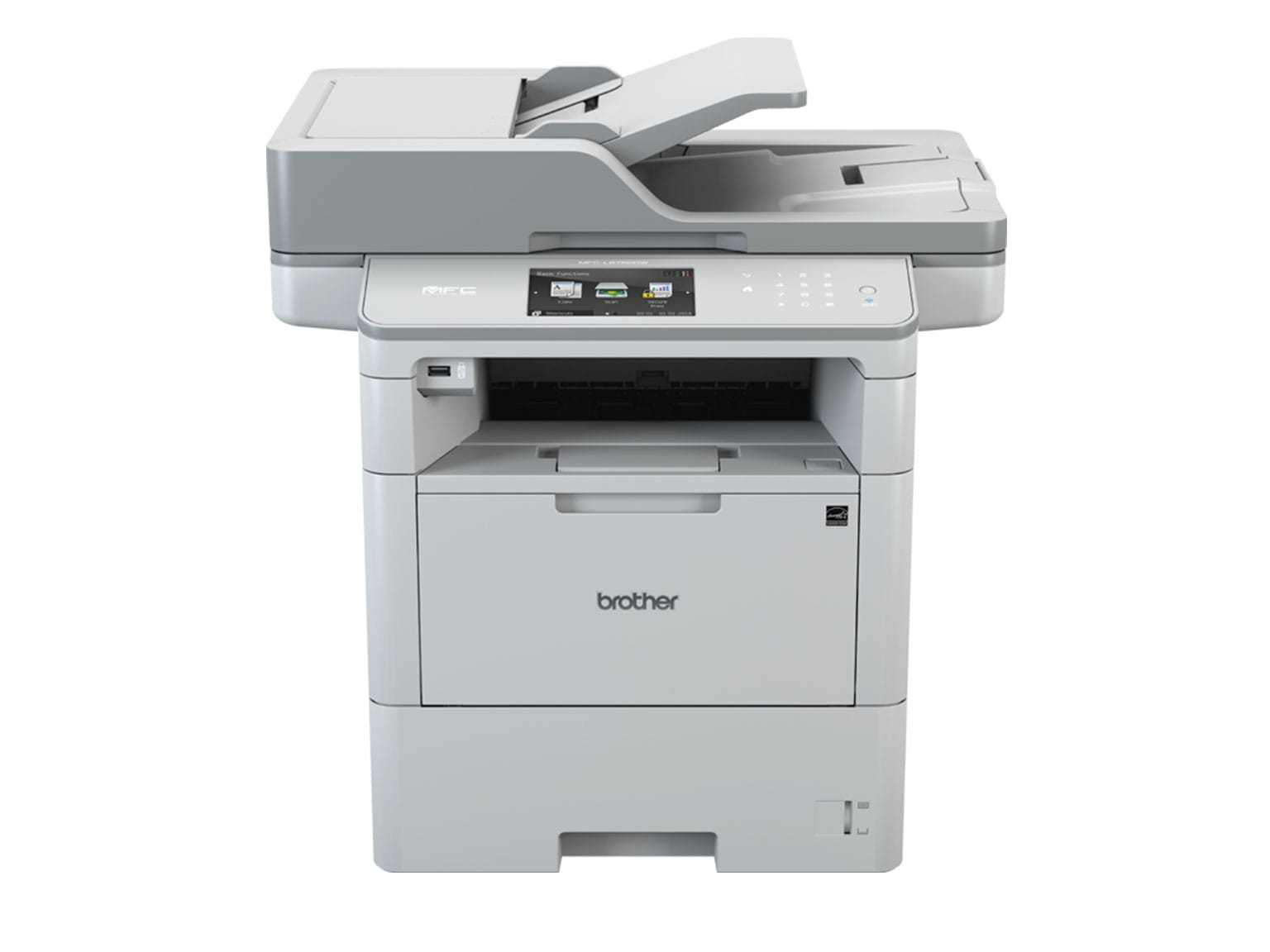 Brother mono laser all-in-one front view