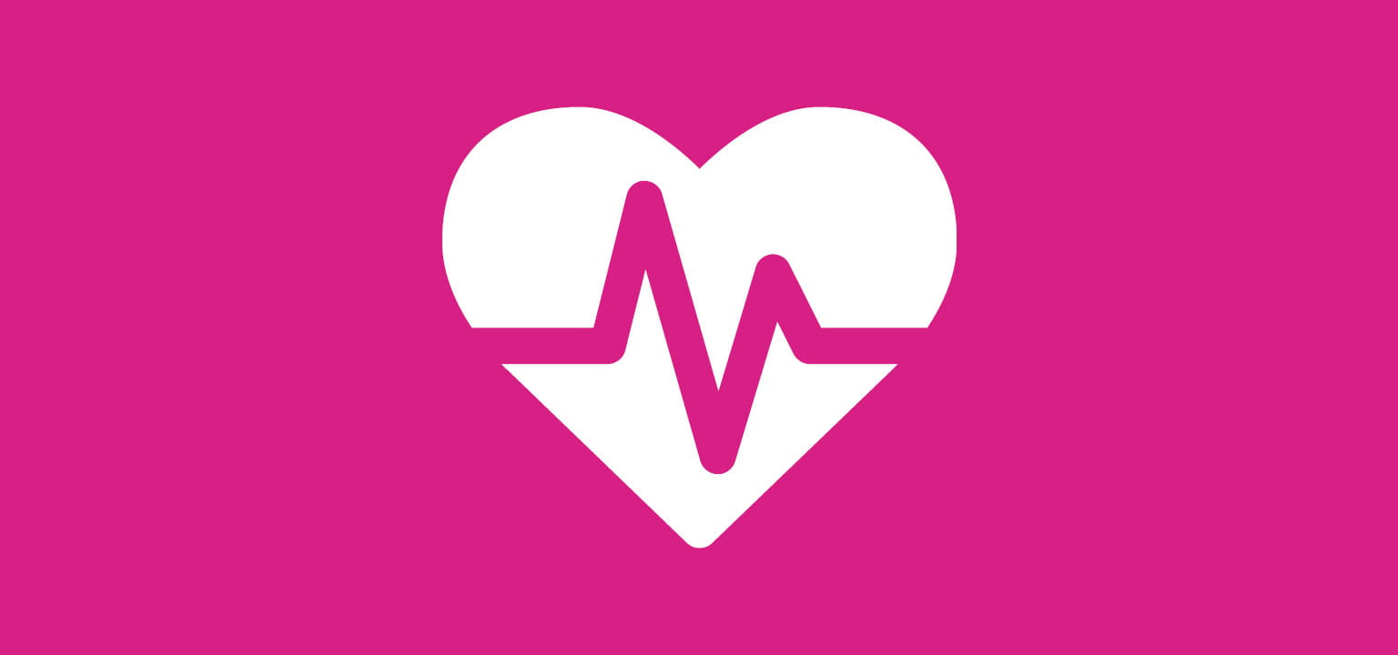 Heart icon for healthcare labelling