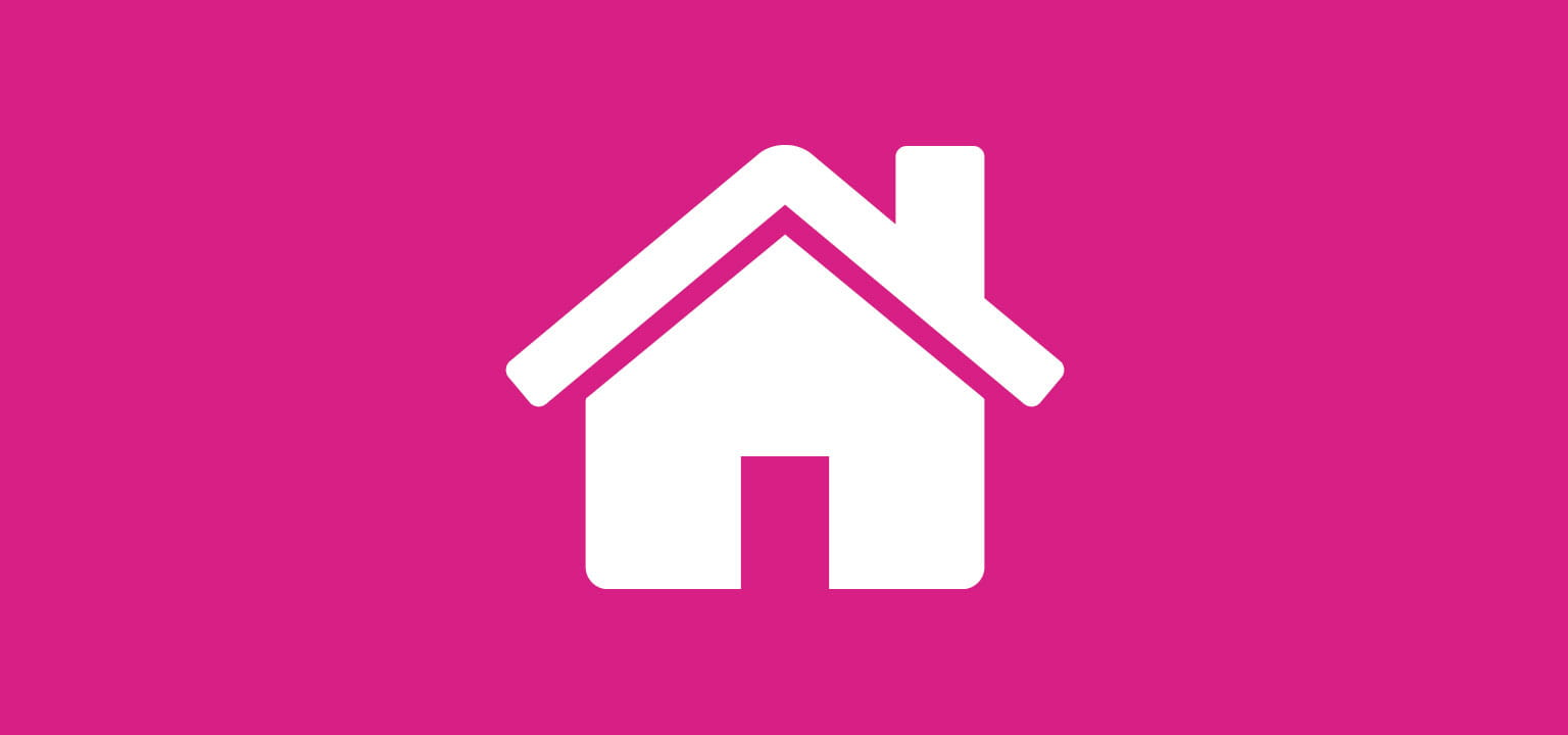 Home icon for home labelling