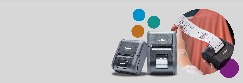 Rugged Jet Mobile Printer Range