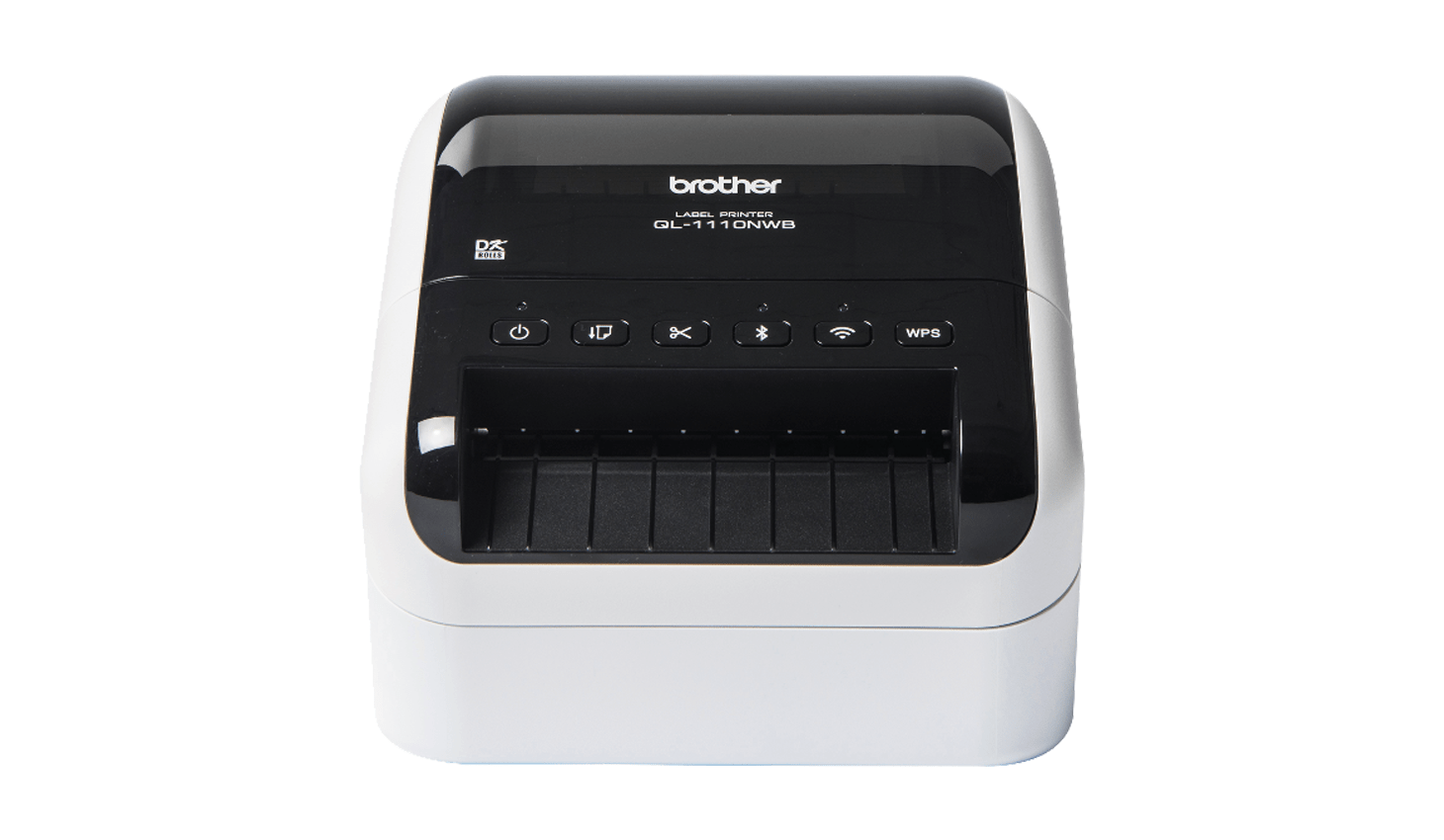 Brother label printer front view