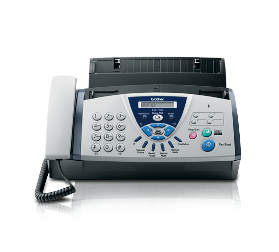 FAX-T106 A4 Thermal Fax Machine + Answering Machine 0