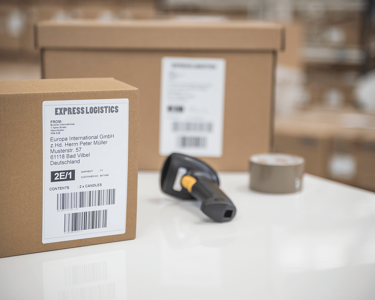 QL-1100 PC connectable shipping and barcode label printer 4