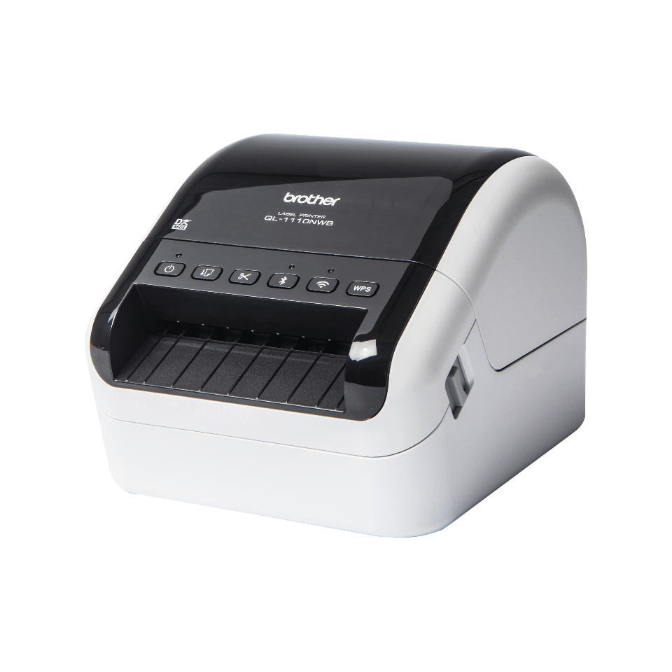 QL-1110NWB Wireless shipping and barcode label printer