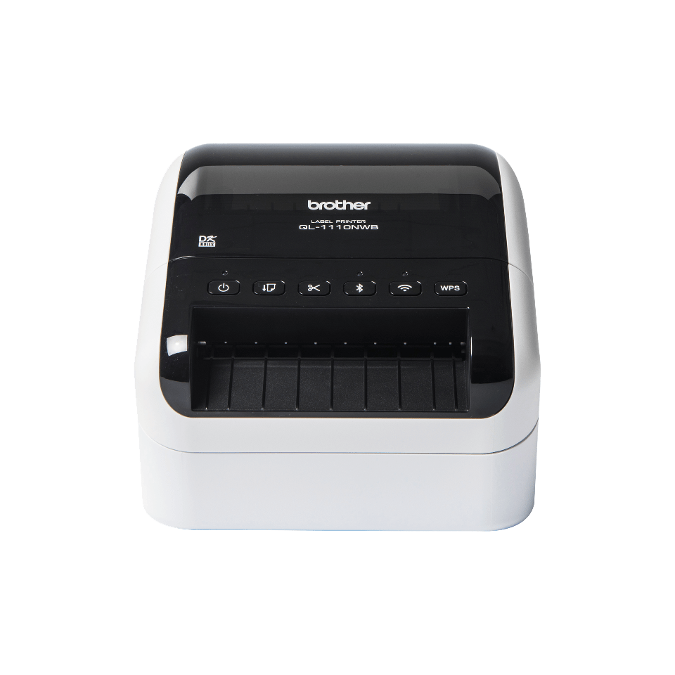 QL-1110NWB Wireless shipping and barcode label printer 6