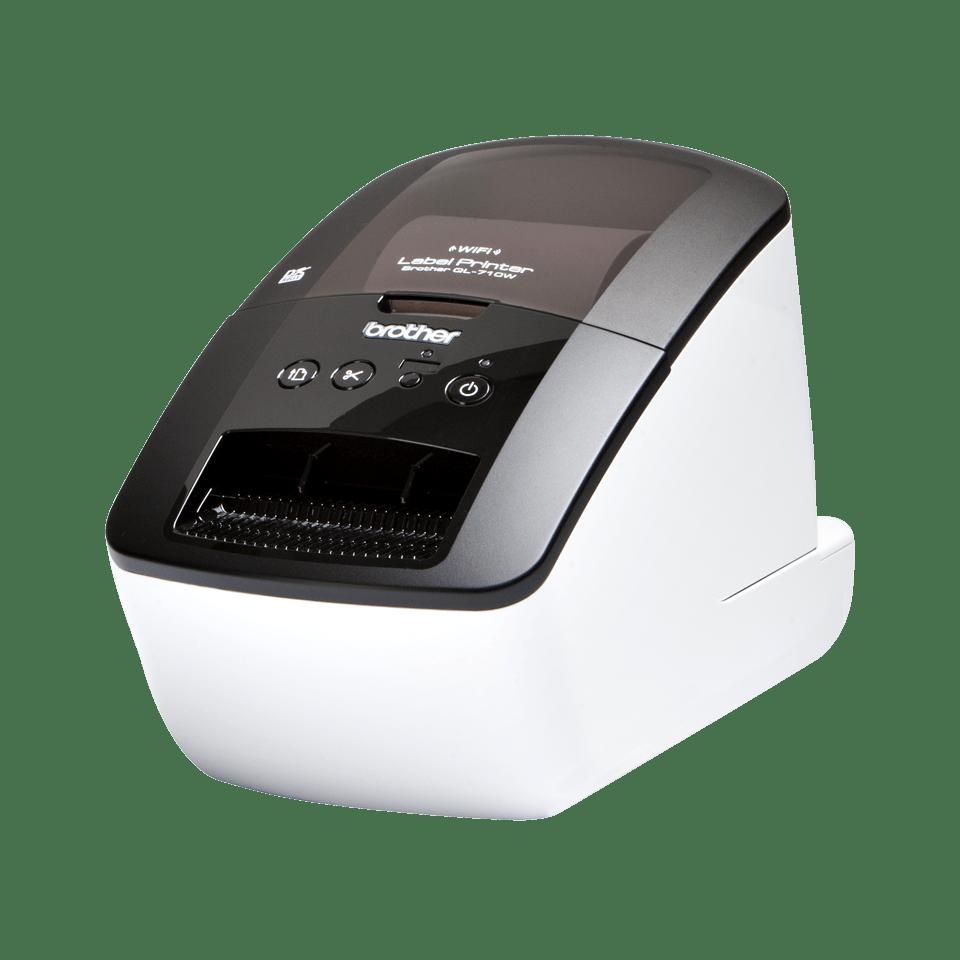 QL-710W High-Speed Label Printer + Wireless 0