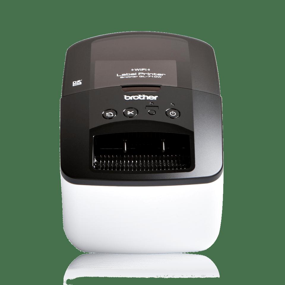 QL-710W High-Speed Label Printer + Wireless 1