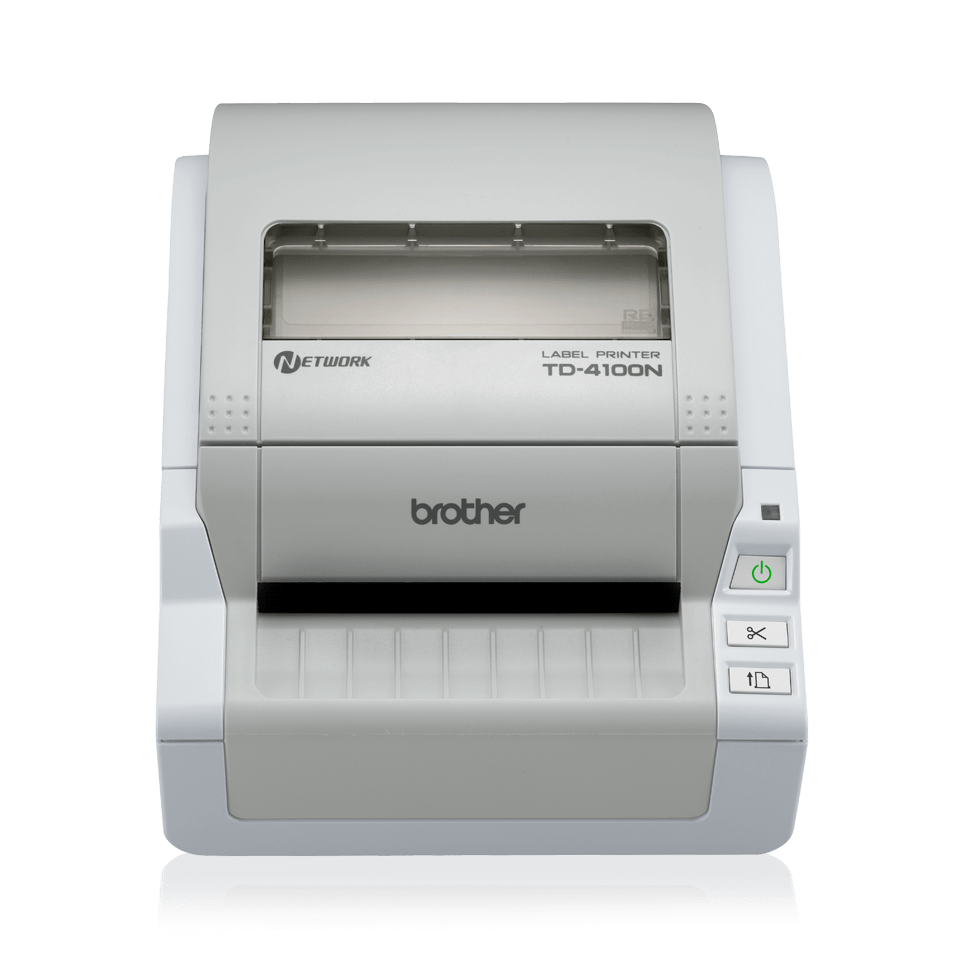 TD-4100N Professional Wide Label Printer + Network 2