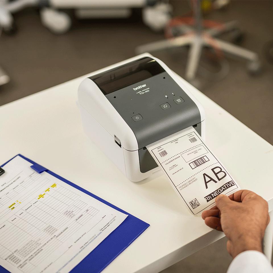 TD-4410D High-quality Desktop Label Printer 6