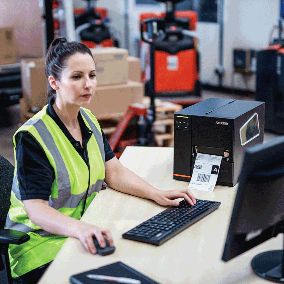 TJ-4020TN Industrial label printer 5