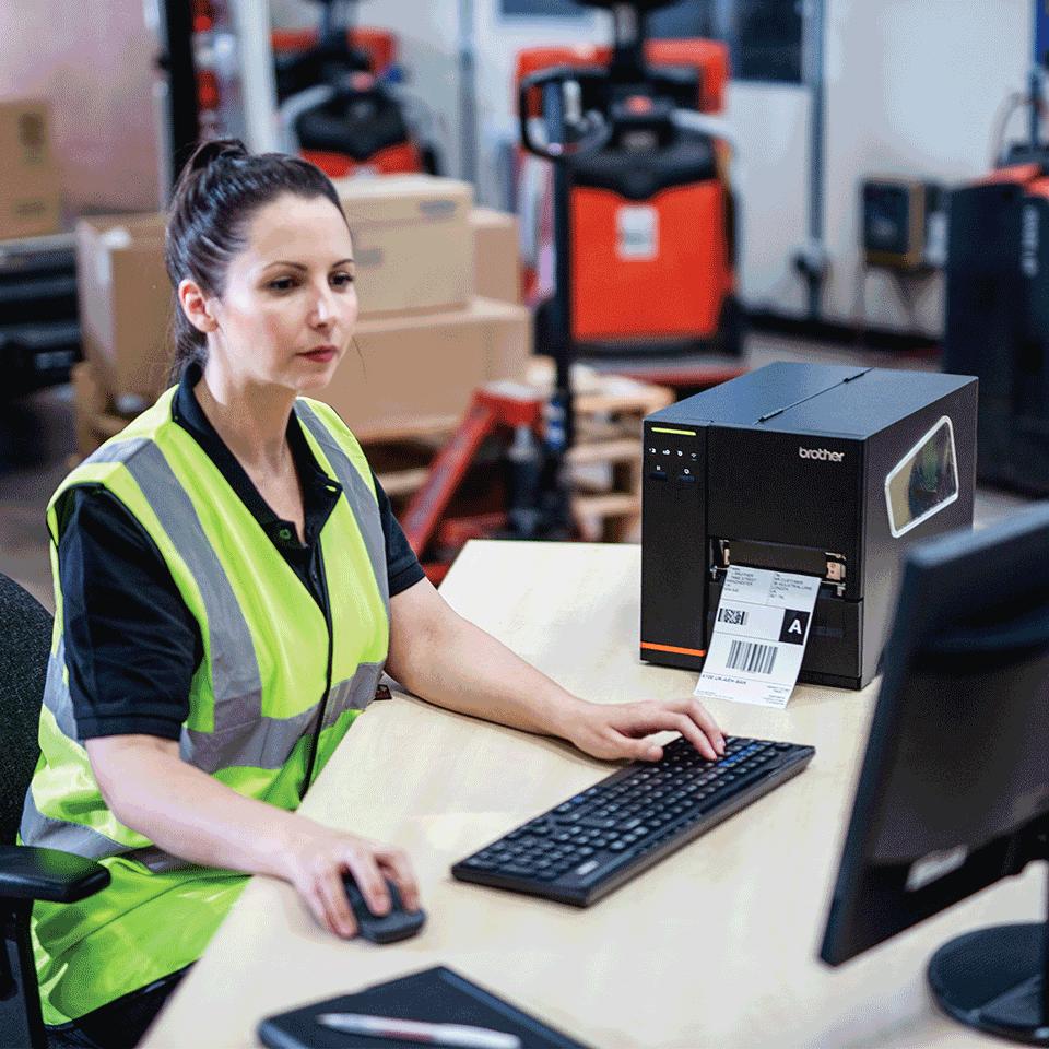 TJ-4121TN Industrial label printer 6