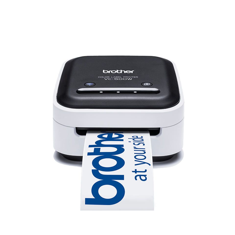 VC-500W colour label printer front shot