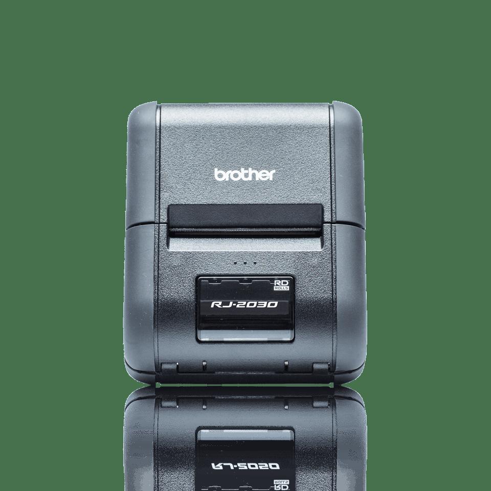 RJ-2030 Rugged Mobile Printer + LCD