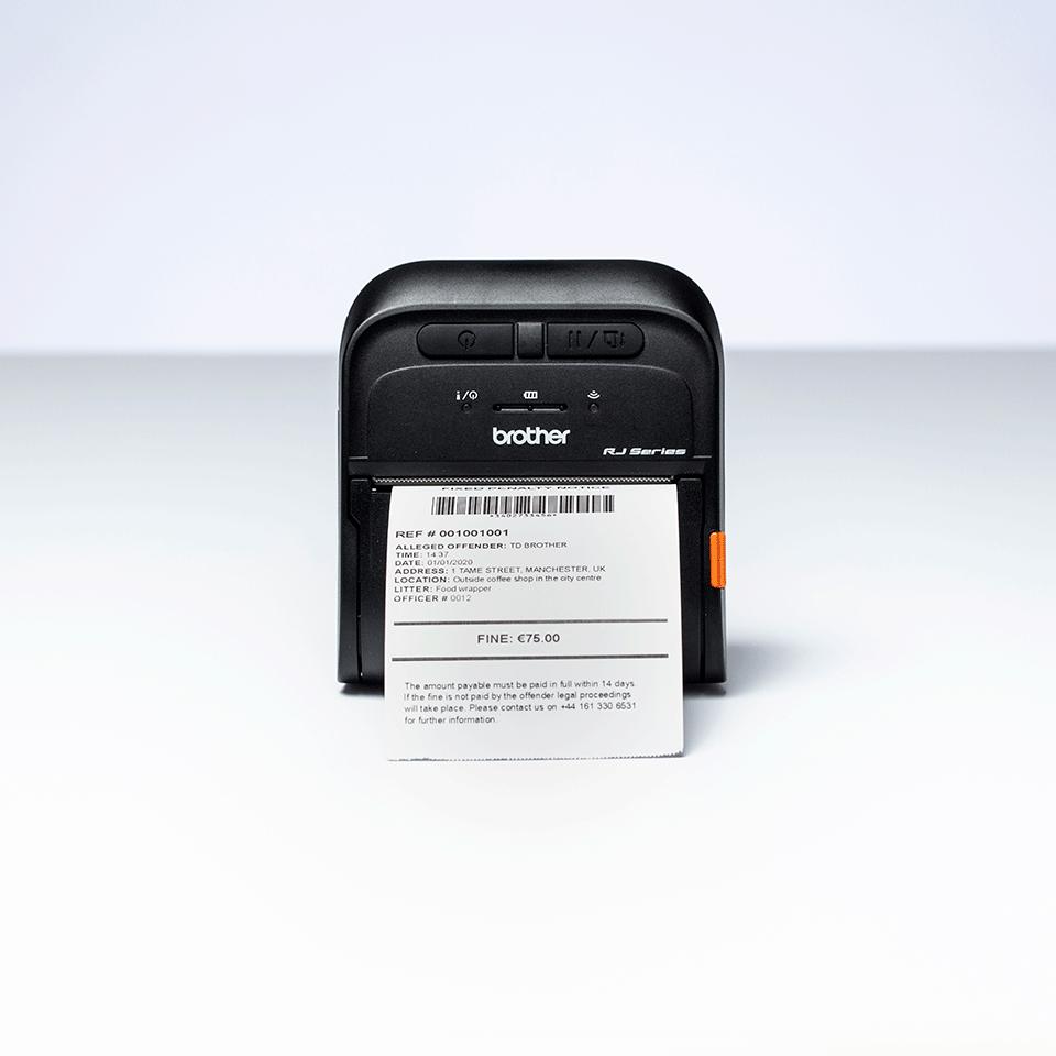 RJ-3055WB Mobile Label and Receipt Printer 6