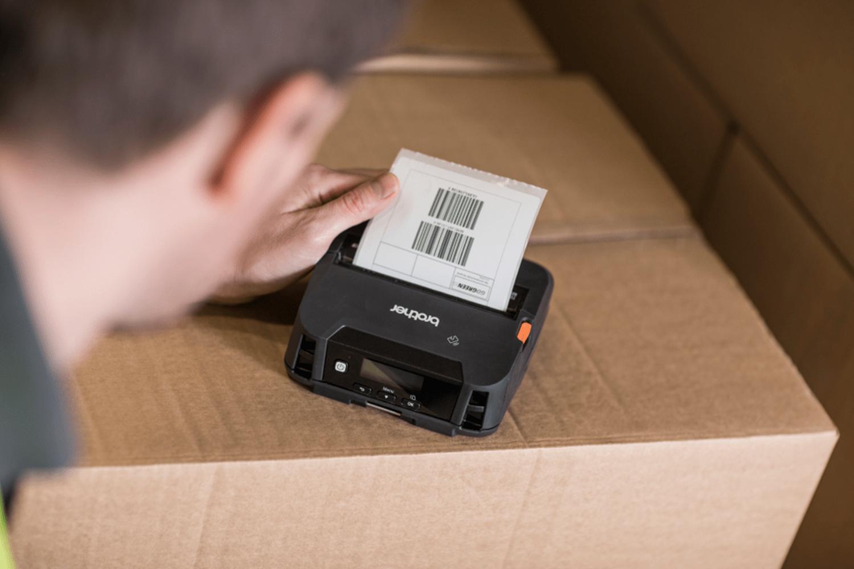 RJ-4230B4 inch Mobile Printer 5