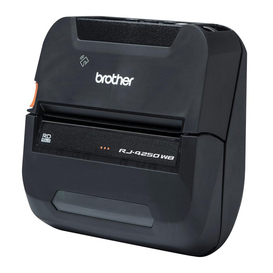 "RJ-4250WB Rugged 4"" Mobile Printer 5"