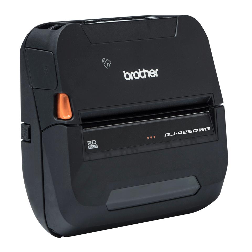 "RJ-4250WB Rugged 4"" Mobile Printer 6"