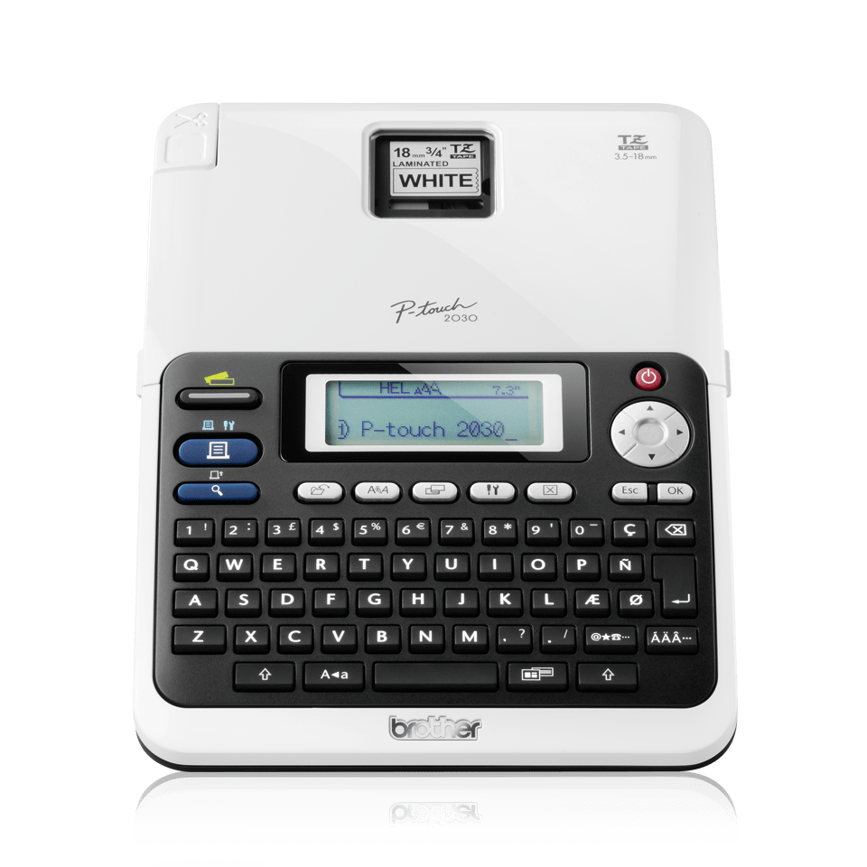 PT-2030VP Professional Desktop Label Printer 2