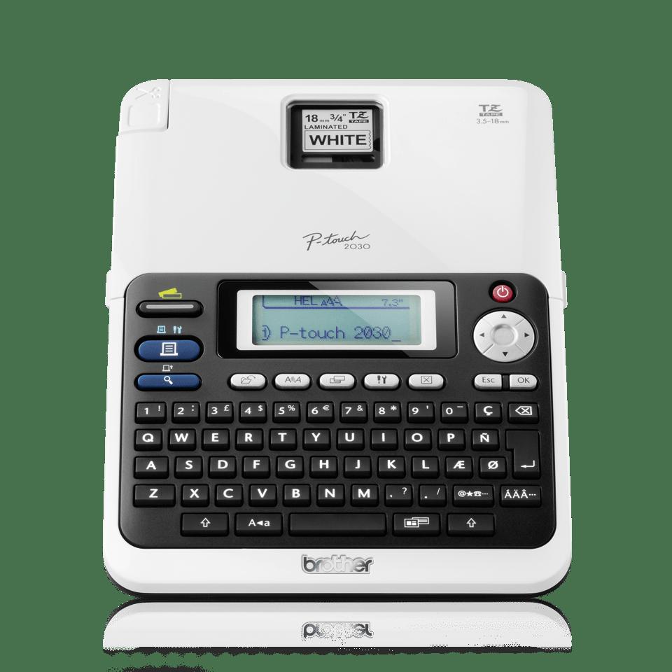 PT-2030VP Professional Desktop Label Printer 2