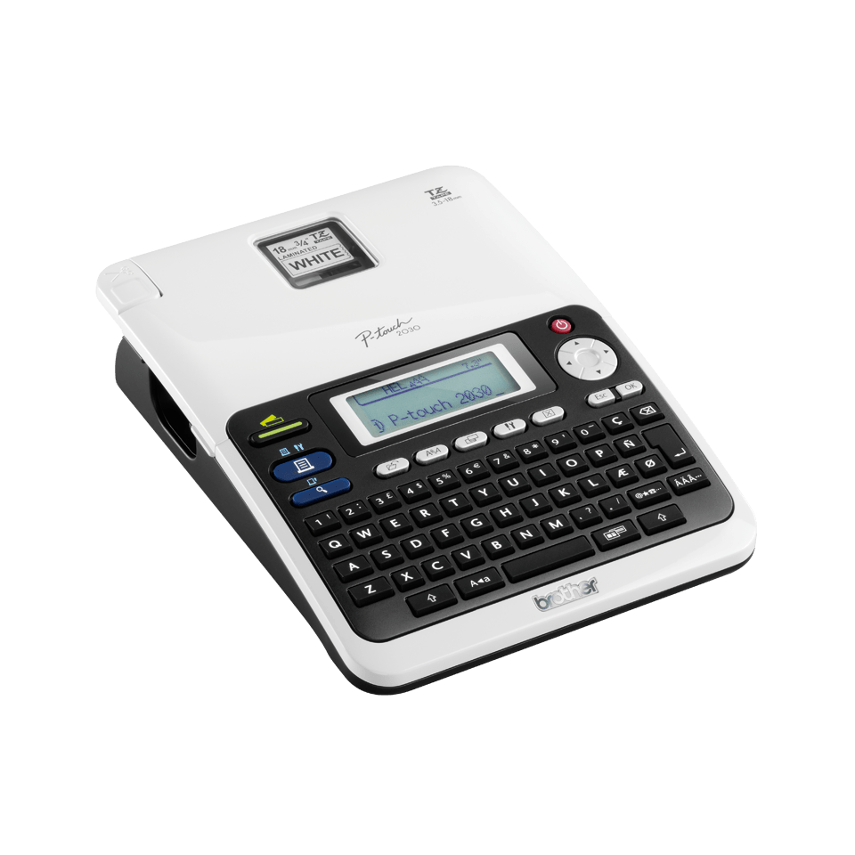 PT-2030VP Professional Desktop Label Printer 3