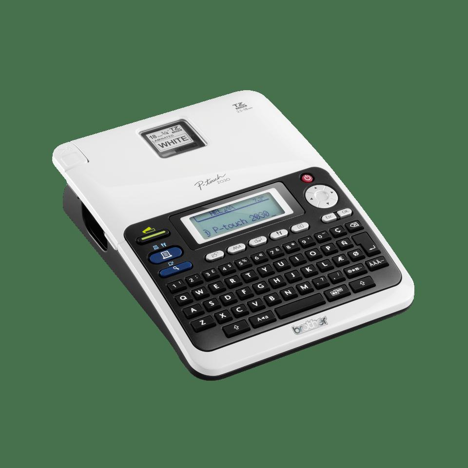 PT-2030VP Professional Desktop Label Printer 3