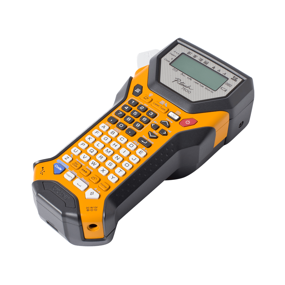 PT-7600VP Handheld Electrical Specialist Label Printer
