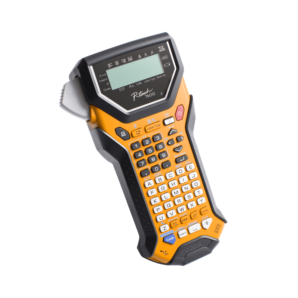 PT-7600VP Handheld Electrical Specialist Label Printer 2