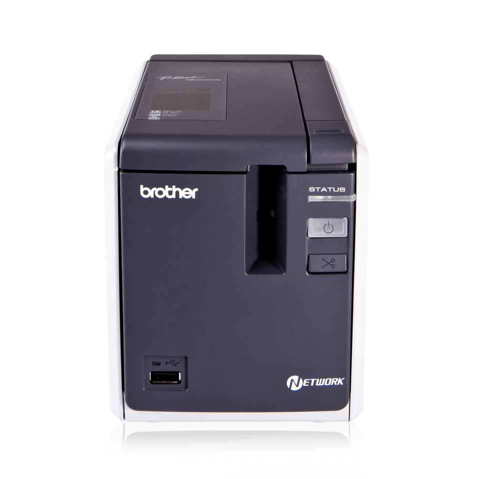 PT-9800PCN Professional Network Label Printer 2