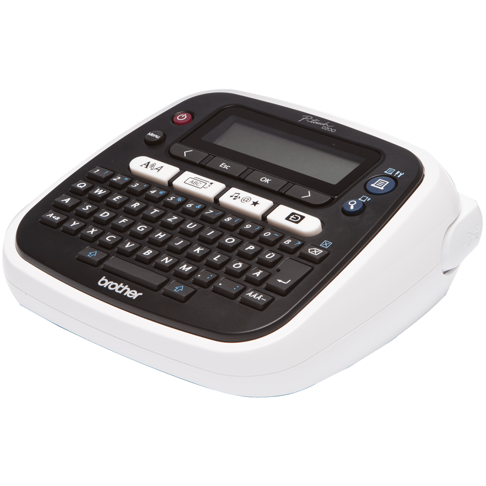 PT-D200VP Desktop Label Printer + Carry Case 2