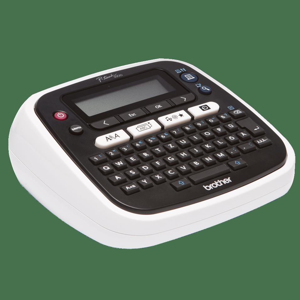 PT-D200VP Desktop Label Printer + Carry Case 3