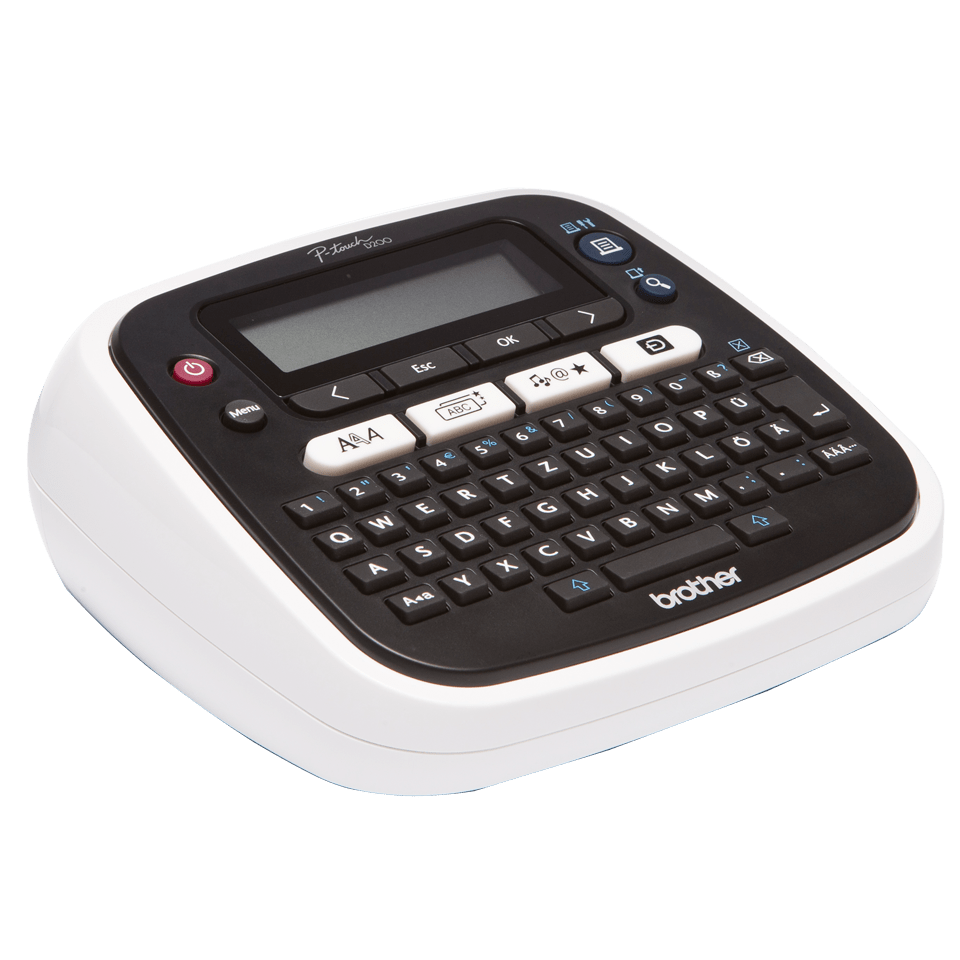 PT-D200VP Desktop Label Printer + Carry Case 3