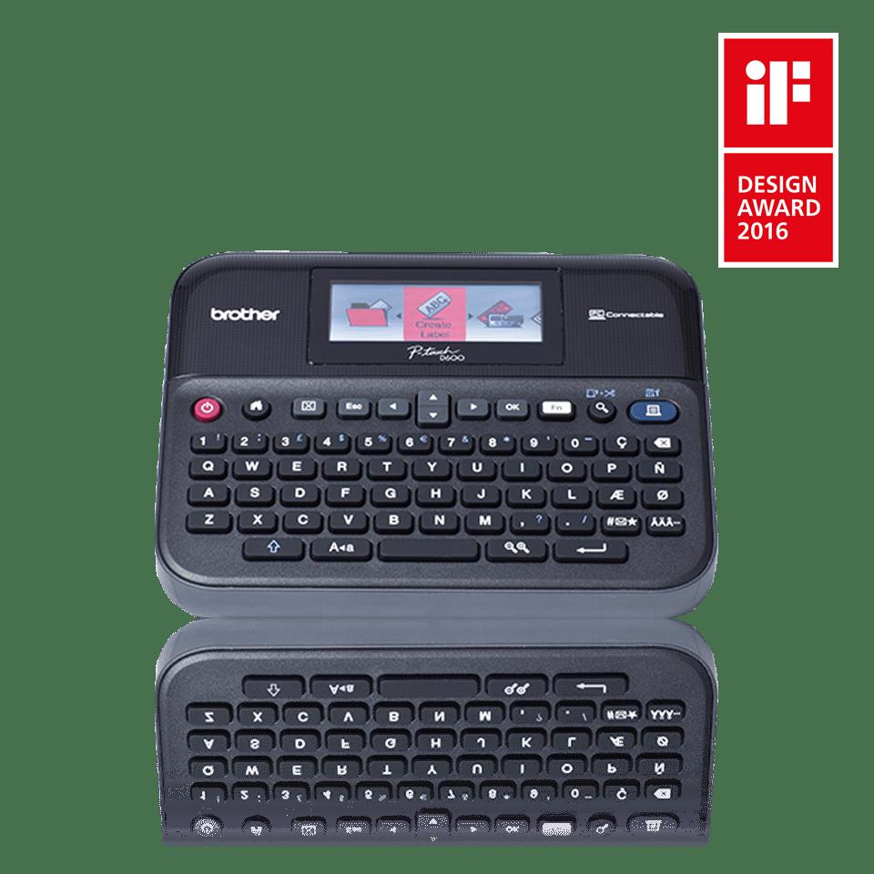 PT-D600VP Desktop Labelling Machine 0